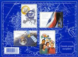 FRANCE   N°123 ** - Grands Projets €uropéens - Neufs