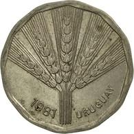 Monnaie, Uruguay, 2 Nuevos Pesos, 1981, Santiago, TB+, Copper-Nickel-Zinc, KM:77 - Uruguay