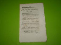 Lois 1821:Organisation Portefaix Du Canal De Givors.Droits Sur Les Laines.Pensions Dans Les Collèges Royaux.Legs... - Decrees & Laws