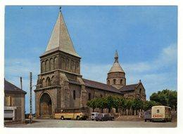 Cpm N° 1 BENEVENT L ' ABBAYE L ' Eglise Romane Ancienne Abbatiale XIIe Siècle - Benevent L'Abbaye