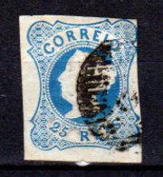 Portogallo-A-0004 - Emissione 1853 (o) Used - Senza Difetti Occulti. - Usati