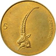 Monnaie, Slovénie, 5 Tolarjev, 1998, TTB+, Nickel-brass, KM:6 - Slovénie