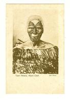 New Zealand (NZ), Maori Chief, Tuari Netana, Facial Tattoo, Cloak, Postcard - Nouvelle-Zélande