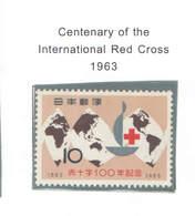 Giappone PO 1963 Cent.Croce Rossa Scott.784+See Scan On Scott.Page - 1926-89 Imperatore Hirohito (Periodo Showa)