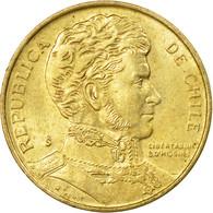 Monnaie, Chile, Peso, 1989, TTB, Aluminum-Bronze, KM:216.2 - Chile