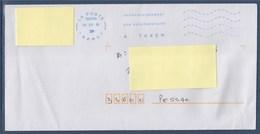 """= Enveloppe Flamme """"A Taxer'  Affranchissement Non Réglementaire 39376A 05 03 18 France - Taxes"""