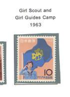 Giappone PO 1963 Scout Girl   Scott.794+See Scan On Scott.Page - 1926-89 Imperatore Hirohito (Periodo Showa)