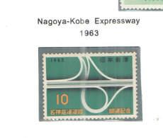 Giappone PO 1963 Kobe Express    Scott.793+See Scan On Scott.Page - 1926-89 Imperatore Hirohito (Periodo Showa)