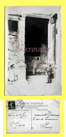 CPA 30 NIMES Temple De DIANE 1912  ( Photo Carte Photographique ) - Nîmes
