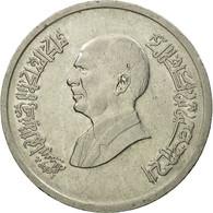 Monnaie, Jordan, Hussein, 5 Piastres, 1993, TTB, Nickel Plated Steel, KM:54 - Jordan