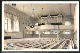 AK Herrnhut I. Sa., Kirchsaal Mit Orgel - Herrnhut