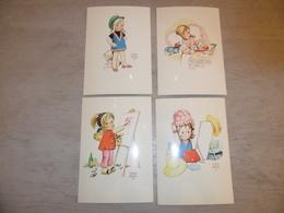 Beau Lot De 10 Cartes Postales De Fantaisie Illustrateur Mabel Lucie Attwell     Mooi Lot Van 10 Postkaarten  Fantasie - Postkaarten