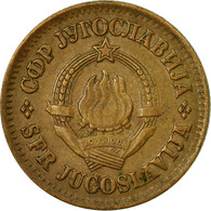 Monnaie, Yougoslavie, 20 Para, 1974, TB+, Laiton, KM:45 - Joegoslavië