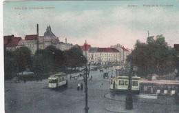 ANTWERPEN / PLACE DE LA COMMUNE / GEMEENTEPLEIN / TRAM / TRAMWAYS   1910 - Antwerpen
