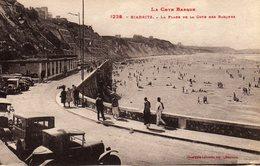 Biarritz La Plage De La Cote Des Basques - Biarritz