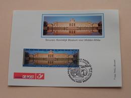 TERVUREN, Koninklijk Museum Voor MIDDEN-AFRIKA De Magie Van De TAMTAM ( BRUSSEL 5-10-1997 : Zie/voir Photo ) ! - FDC
