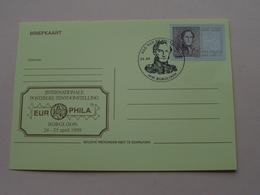 BORGLOON Int. Postzegel Tentoonstelling EUROPHILA 24-25 April 1999 ( 24-04-1999 : Zie/voir Photo ) ! - FDC