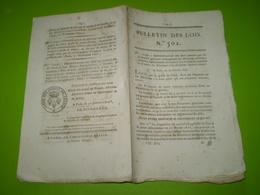 Lois 1822:Déserteurs. Compétence Des Tribunaux Maritimes.Cie Assurance Incendie Nord Pas De Calaix.Hauts Fourneaux 42 - Decrees & Laws