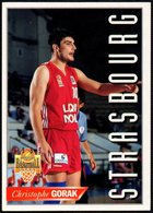 PANINI OFFICIAL BASKETBALL CARDS - CHRISTOPHE GORAK - STRASBOURG - STICKER - Sport