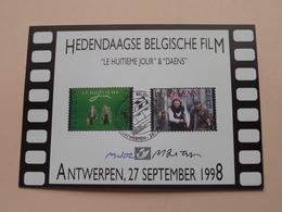 """HEDENDAAGSE BELGISCHE FILM """" Le HUITIEME JOUR """" & """" DAENS """"  ( ANTWERPEN > 26-09-1998 : Zie/voir Photo ) ! - FDC"""