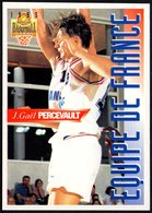 PANINI OFFICIAL BASKETBALL CARDS - JEAN GAEL PERCEVAULT - FRANCE - STICKER - Sport