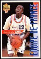 PANINI OFFICIAL BASKETBALL CARDS - MOUSTAPHA SONKO - FRANCE - STICKER - Sport