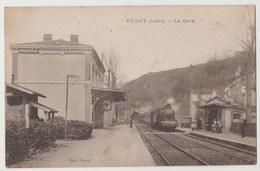 CPA 42 REGNY La Gare - Autres Communes