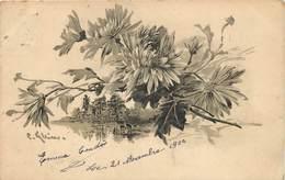 KLEIN CATHARINA (illustrateur) -  Paysage Et Fleurs. - Klein, Catharina