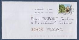 = Musée Rimbaud Charleville Mézières 23.07.18 TVP LP 20g. Sur Enveloppe, Cadre Philaposte - France
