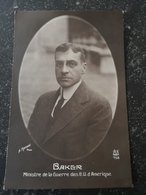 WW1 Period //. Baker Ministre De La Guerre (War Office) Des Etata Unis  (U.S.A.)  // 19?? - Personen
