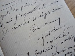 Alfred ERNST (1860-1898) Critique Musical. [ WAGNER ] - Autographe - Autographes