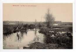 - CPA BOUILLON (Jullouville / 50) - Le Thar à Sa Sortie De La Mare (avec Lavandière) - Photo J. Puel - - France