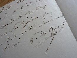Gabriel Hector De QUERCY (18..-1892) Chanteur & Ténor D'Opérettes. Artiste Lyrique & Dramatique. AUTOGRAPHE - Autographs
