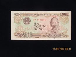 Viêt-Nam, 2000 Dong 1988, Neuf, N'a Pas Circulé - Vietnam