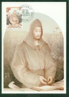 CM-Carte Maximum Card #1983- Liechtenstein  # Europa  CEPT #  Notker  Balbulus Of St Gall ,Mönch,moine,monk - 1983