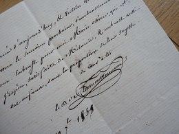 DUC De CLERMONT TONNERRE (1779-1865) MINISTRE De La GUERRE. Autographe - LAS à Son Fils Aimé - Autographes