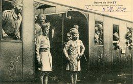 MILITARIA(TROUPES INDOUES) INDIEN(TRAIN) - Régiments