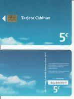 NEW !!! España 5€ Tarjeta Movistar Cabinas 09/17....Spain Phonecard, Telecarte Espagne - España