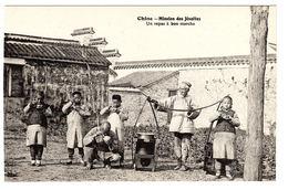 CHINE - Mission Des Jesuites - UN REPAS À BON MARCHÉ - ENFANTS CHINOIS - CHINESE CHILDREN - Chine