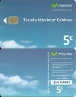 NEW 2015 !!!ESPAÑA 04/015 TARJETA TELEFONO MOVISTAR CABINAS, Phonecard Spain - España