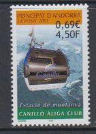 Andorra Fr. 2001 Canillo Aliga Club 1v ** Mnh   (40658D) - Frans-Andorra