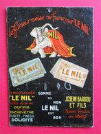 Carton Publicité Le NIL à Pendre Joseph Bardou & Fils éléphant Par Cappiello Papier à Cigarettes PM Catalan - Advertising Items