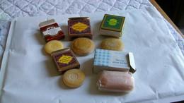 Mini Savon Parfumé Lot De 5  Avec Boite - Produits De Beauté