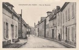 02--CHAUMONT EN VEXIN--RUE DE BEAUVAIS--BON ETAT-VOIR SCANNER - Chaumont En Vexin