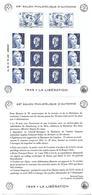 26 France Feuillet Salon Philatélique D'automne Anniversaire De La Libération F4986 N** - Blocs & Feuillets