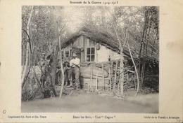 War - Guerre  1914 - 1918 // Souvenir De La Guerre 1914-15 // Dans Les Bois (Une - Cagna) 19?? - Guerra 1914-18