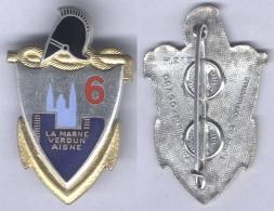 Insigne Du 6e Régiment De Génie - Armée De Terre