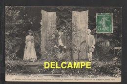 DD / THÉÂTRE SARAH BERNHARDT , Melle ANDRÉE PASCAL, M. CHAMBLY ET M. PIERRE DALTOUR DANS L' ESCARPOLETTE / 1909 - Théâtre