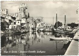 X4309 Sirmione (Brescia) - Lago Di Garda - Castello Scaligero - Castle Schloss Castillo Chateau / Viaggiata 1961 - Other Cities