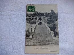 32 CPA - AUCH - ESCALIER MONUMENTAL - TIMBREE 1912  - R15555 - Auch